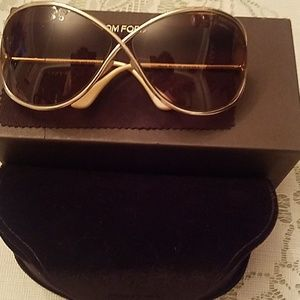 Tom Ford oversized soft square sunglasses
